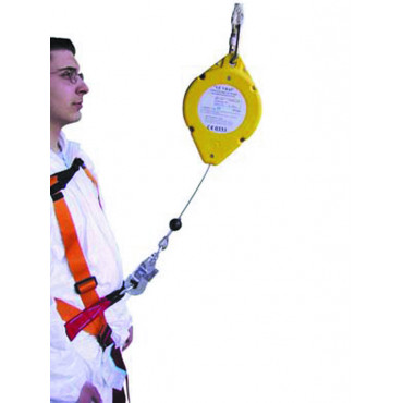 Anti-chute à câble acier à rappel automatique autobloquant