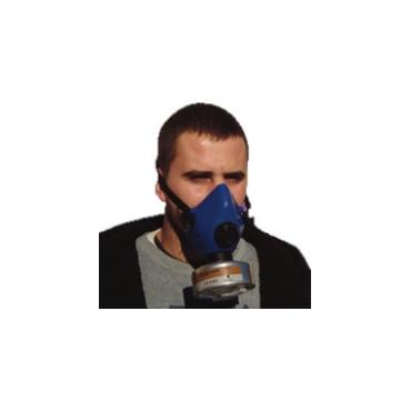 Demi-masque silicone nu monocartouche