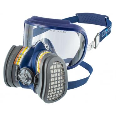 Masque Elipse Combiné Intégral + lunettes de protection intégrées