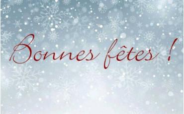 La société SODIF vous souhaite de bonnes fêtes de fin d'année !